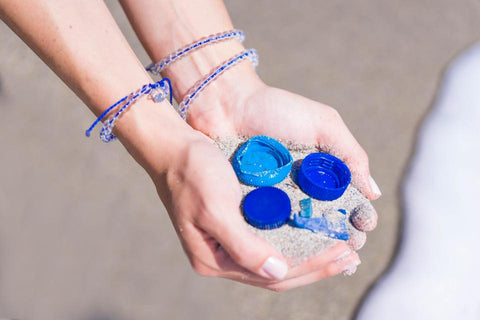 4Ocean bracelets made from recycled plastic waste