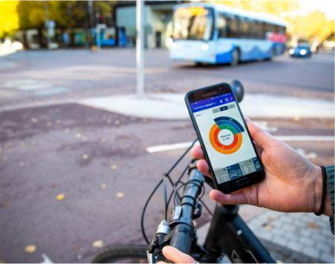 Finland App for Bicycles