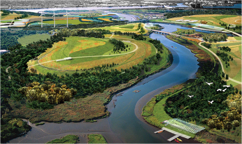 Fresh Kills Park Master Plan in New York State USA