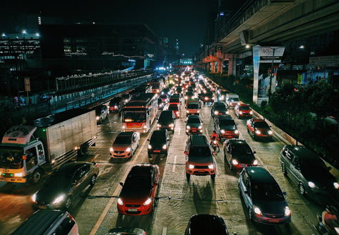 traffic in the city