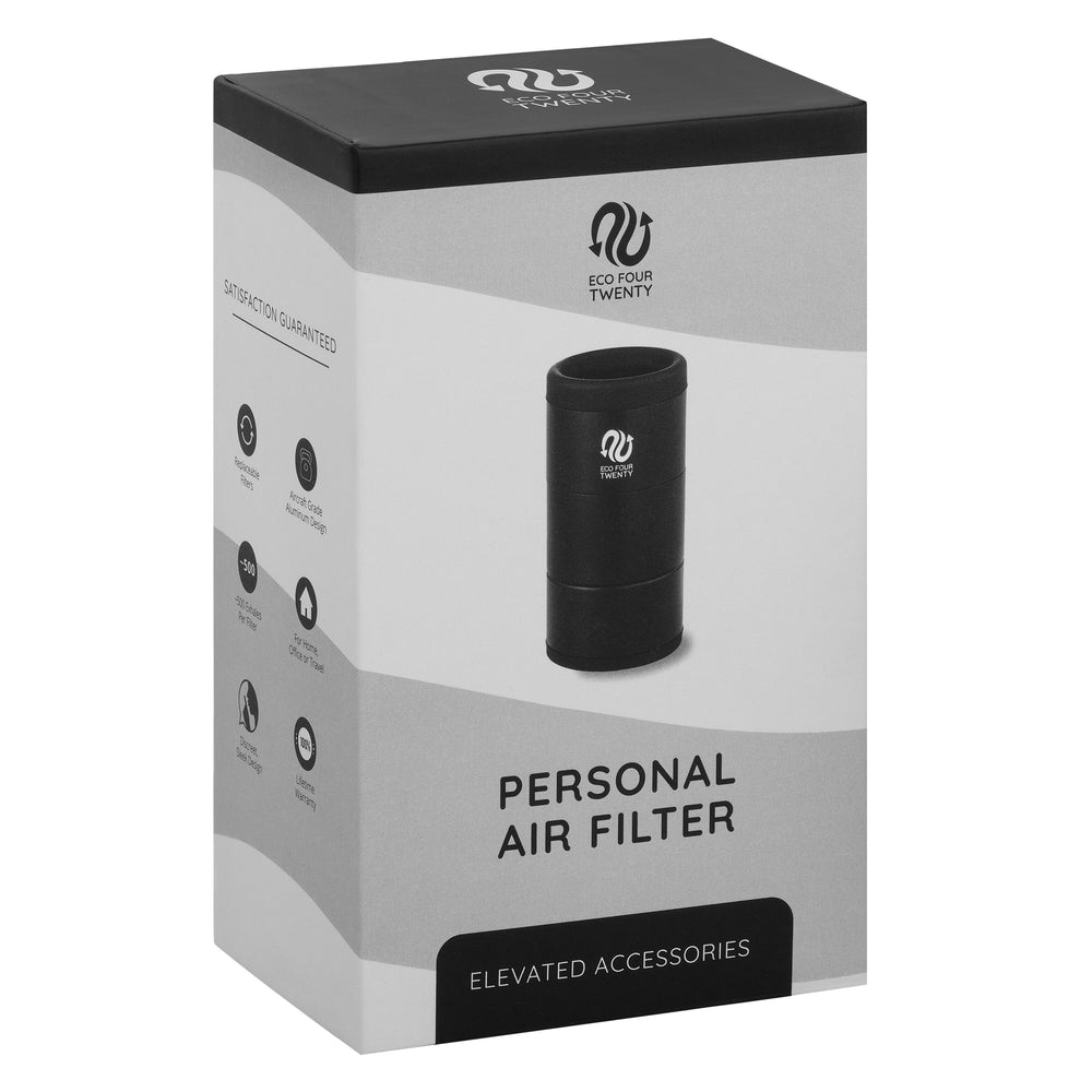 Personal Air Filter - With Eco Friendly Replaceable Cartridge System!