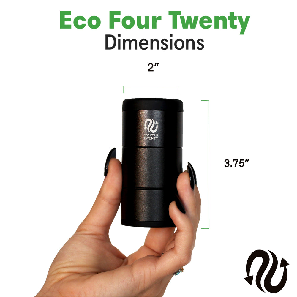 Eco Four Twenty Personal Air Filter Dimensions and Sizing