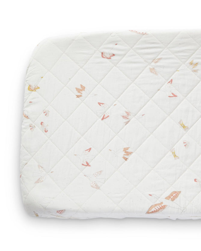 Birds Of A Feather Quilted Changing Cover
