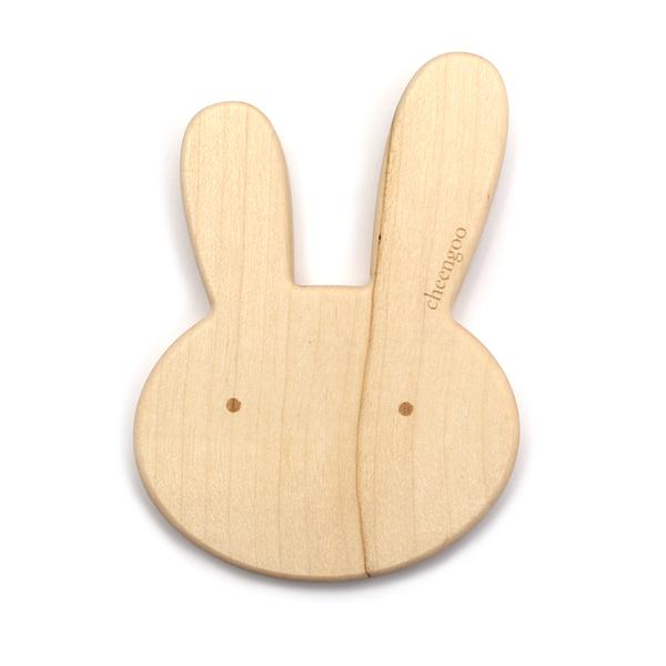 Bunny Wood Teether