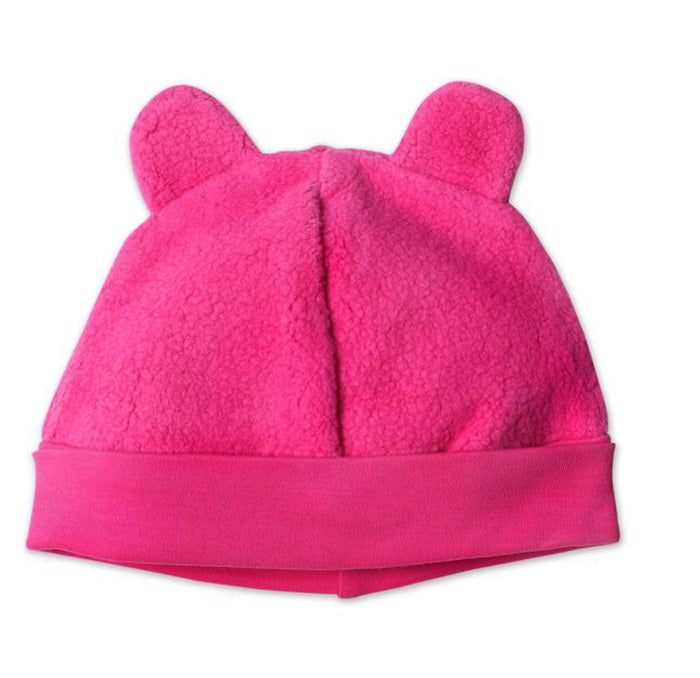 Cozie Fleece Hat, Fuchsia