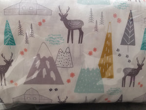 Alpine Forest Crib Sheet