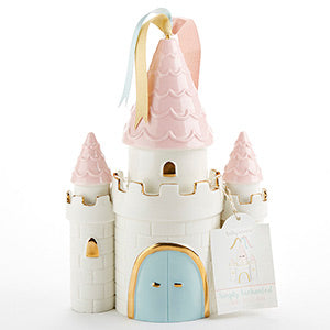 Simply Enchanted Ceramic Castle Bank