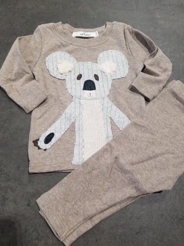 Koala 2pc Set With Optional Coordinating Hat