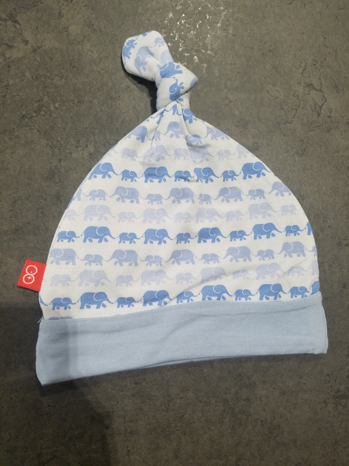 Endearing Elephants Hat - Blue