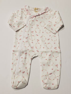 Baby Flowers Footie