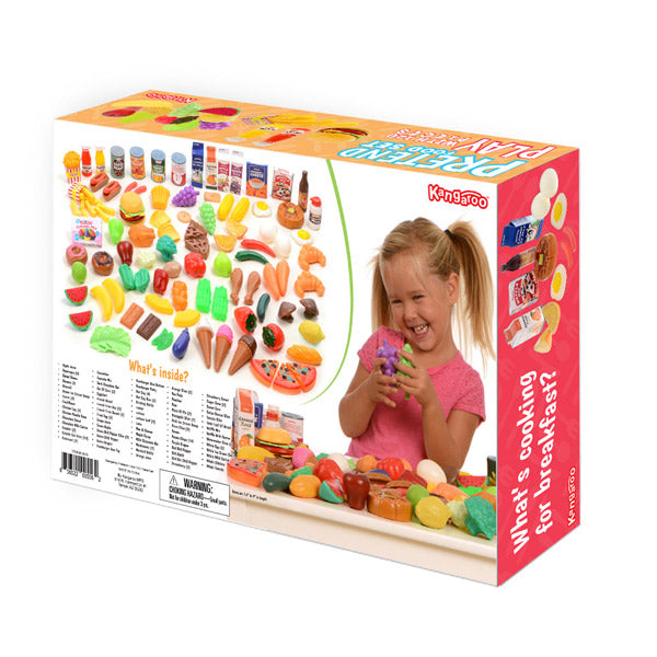 120PC Play Food Set