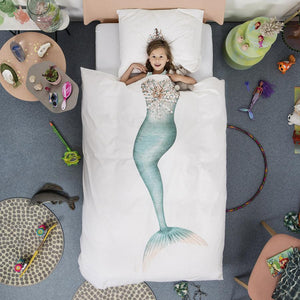Mermaid Duvet And Pillowcase