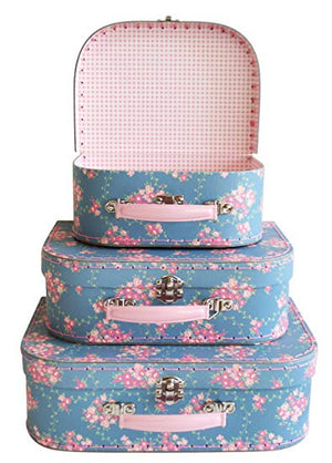 3PC Carry Case Set, Wildflower