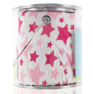 Fitted Crib Sheet - Flamingo Star