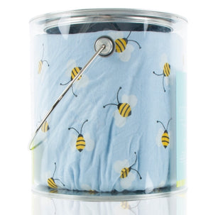 Fitted Crib Sheet - Pond Bees