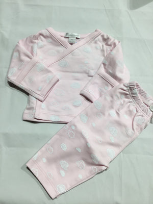 Clouds 2PC Pant Set, Pink