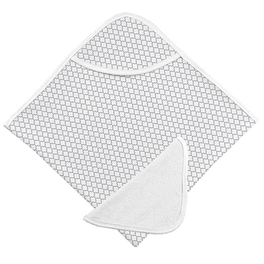 Bath Towel & Washcloth, Grey