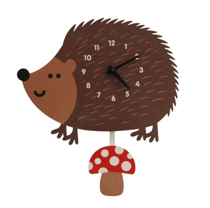 Pendulum Clock, Hedgehog