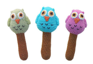Owl Stick Rattle
