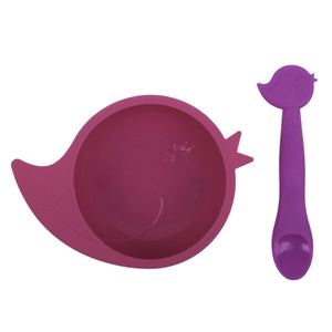 Silibowl And Spoon Set