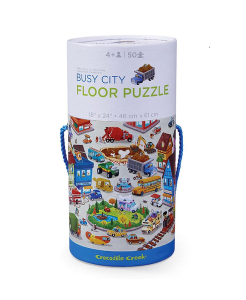 50PC Floor Puzzle Busy City
