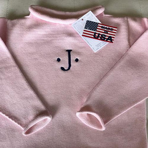 Jersey Rollneck Sweater