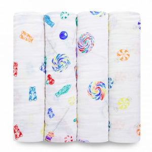 Dylan's Candy Bar 4Pk Classic Swaddles