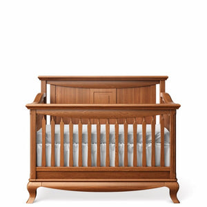 Solid Back Crib Bruno Antico
