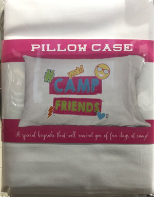 Signing Pillowcase - Camp Friends