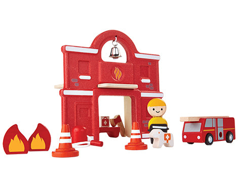 Fire Station - Play Figurine