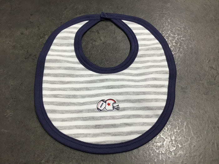 Game Day Stripe Bib