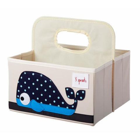 Diaper Caddy: Blue Whale