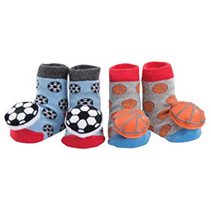 Sports Rattle Socks