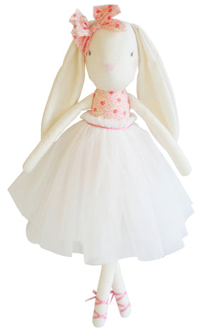 Bronte Ballet Bunny, Pink/Ivory 48 CM