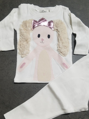 Bunny On Cream 2PC Set