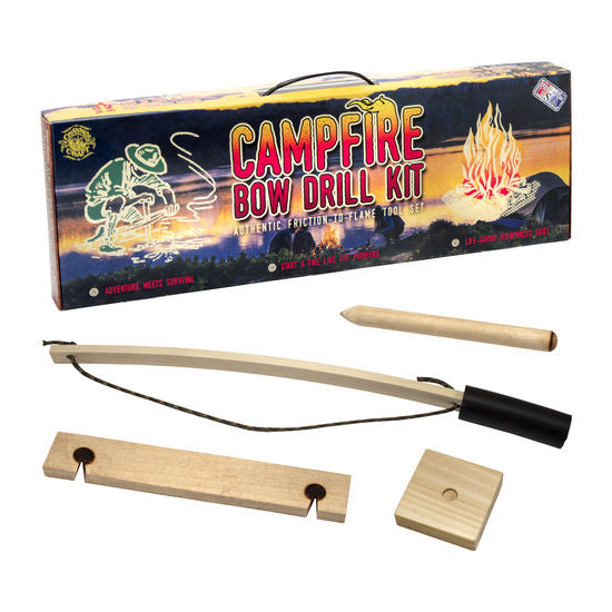 Campfire Bow Drill Kit