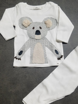 Koala 2PC Set, Cream