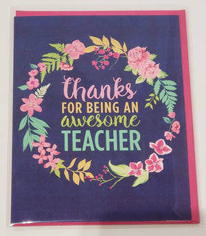 Card - Awesome Teacher
