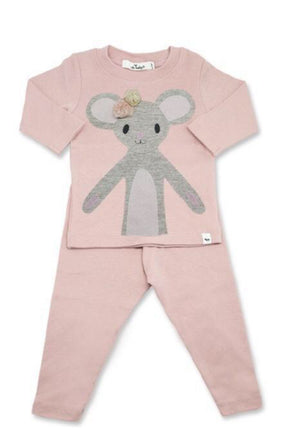 Pom Pom Daisy Mouse 2PC Set