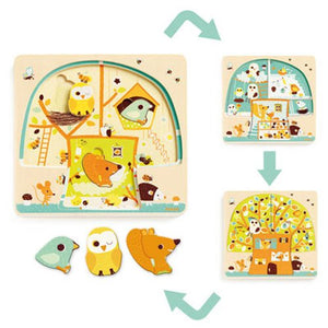 Chez-Nut 3 Layer Puzzle