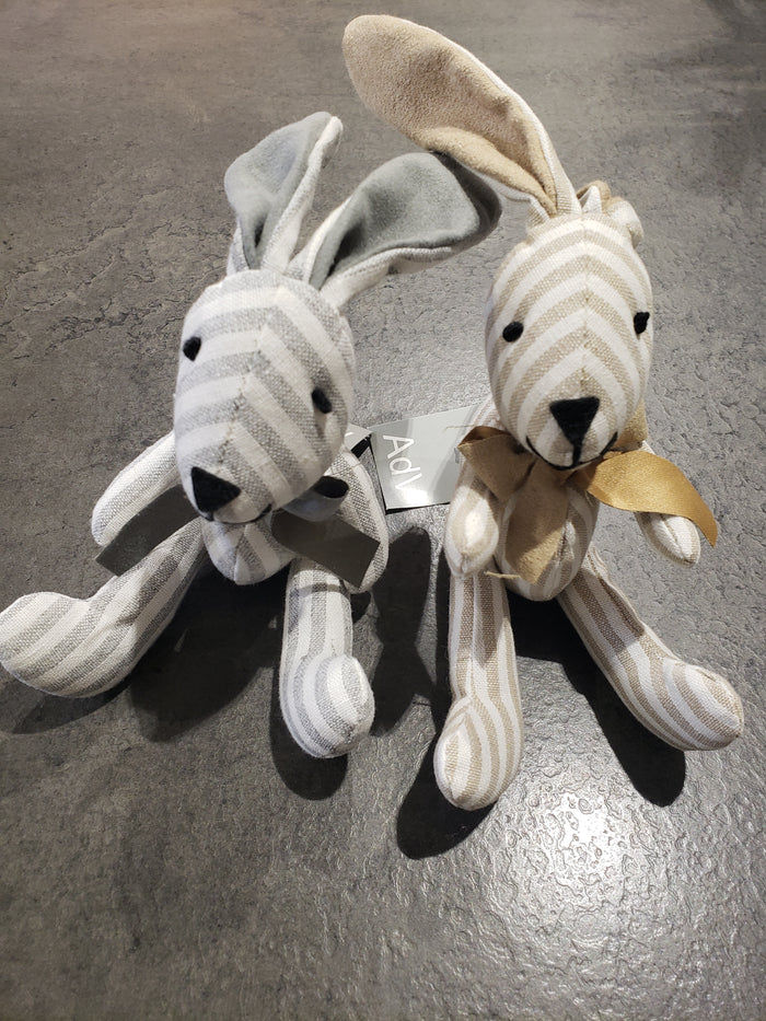 Stripe Rabbit Decor