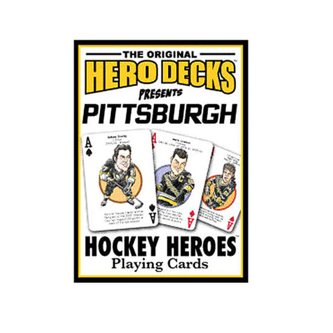 Playing Cards - Pittsburgh Penguins - Hockey