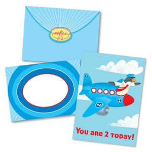 Airplane Birthday Card