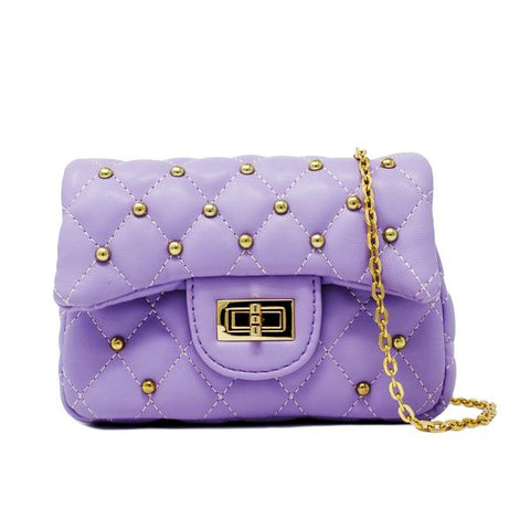Gold Stud Mini Bag