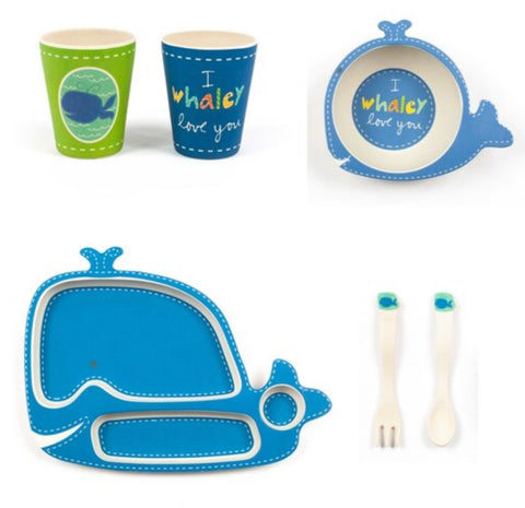 Wally Whale Dinner Set