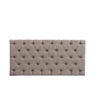 Antonio Tufted Panel, Beige Linen
