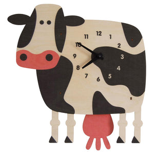 Pendulum Clock, Cow