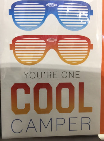 Card - Activity Card Cool Camper