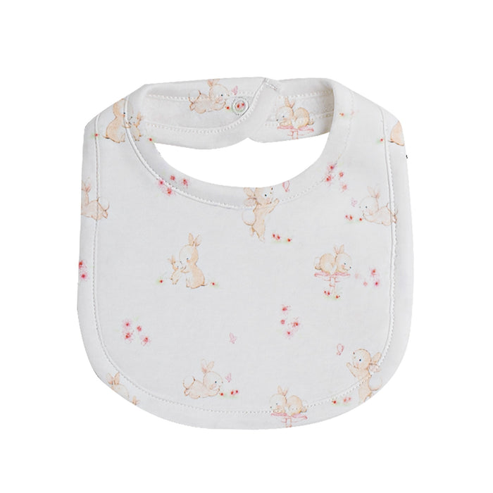 Mommy And The Bunnies, Printed Bib