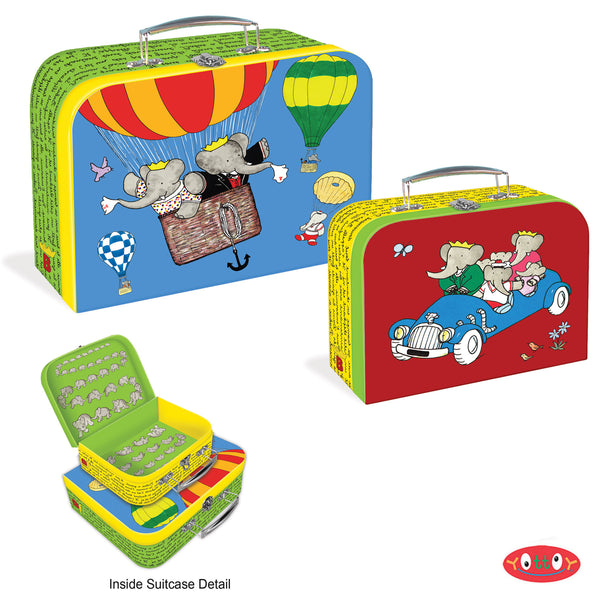 Babar The Elephant's Suitcases (Set Of 2)